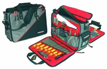 Magma Werkzeugtasche mit Inhalt